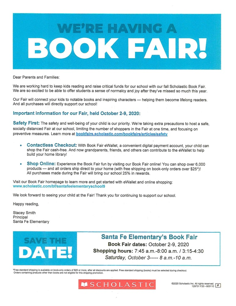 Book Fair is Coming!