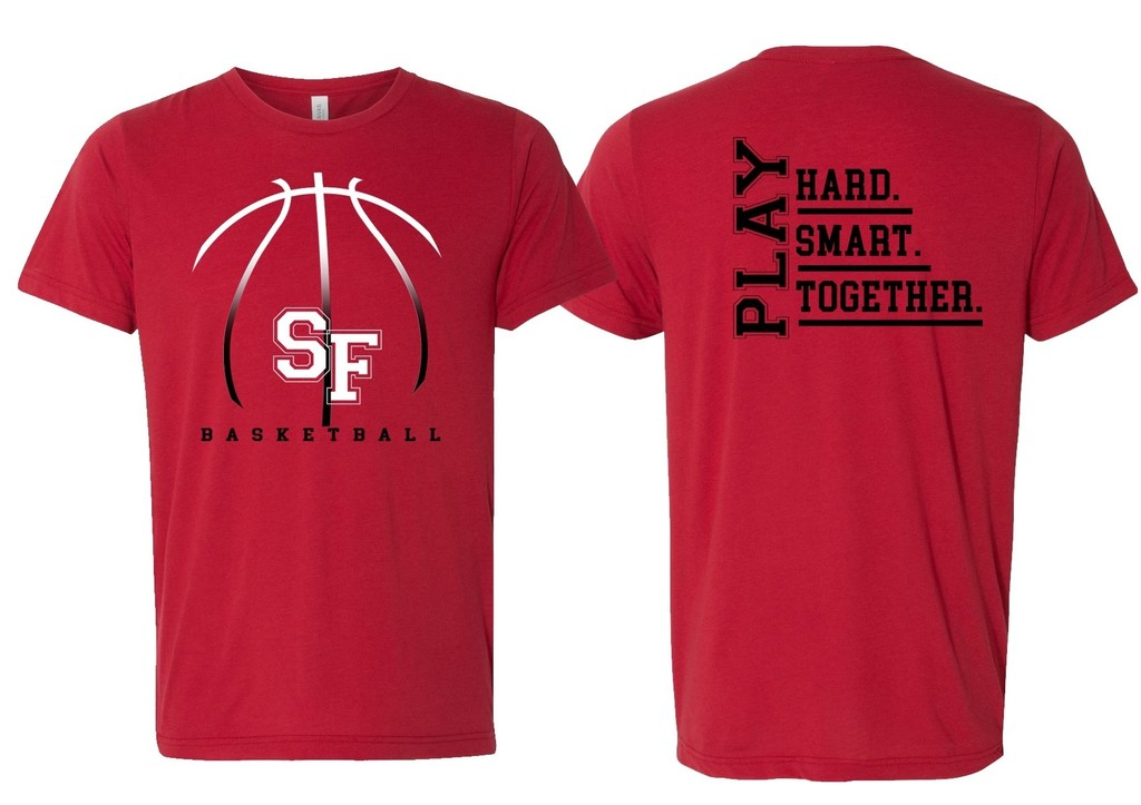 SF Basketball T-Shirts