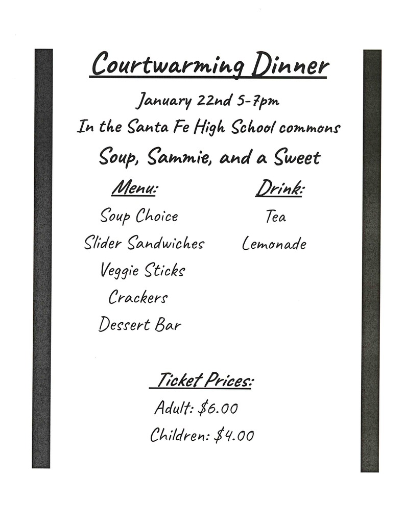 Freshman Courtwarming Dinner