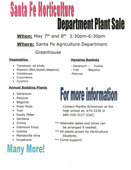 Santa Fe Horticulture Department