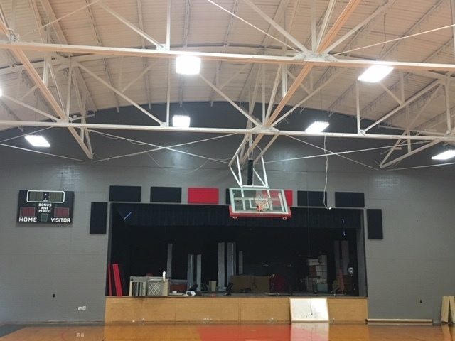 Old Gym Stage