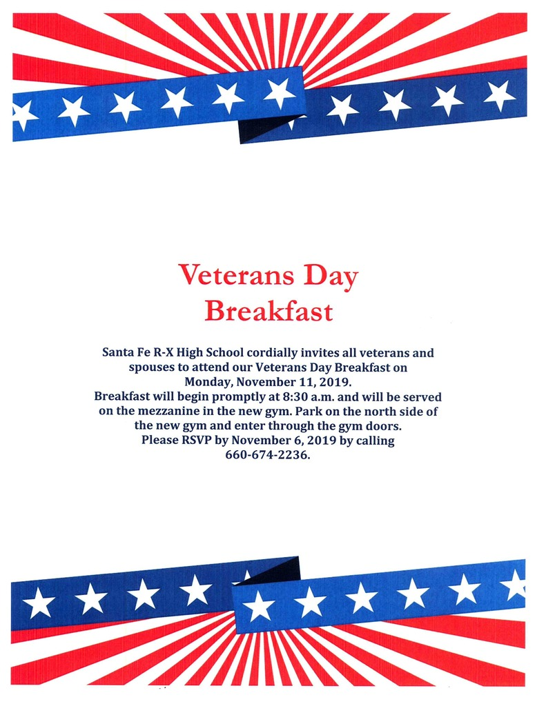 Veterans Day Breakfast
