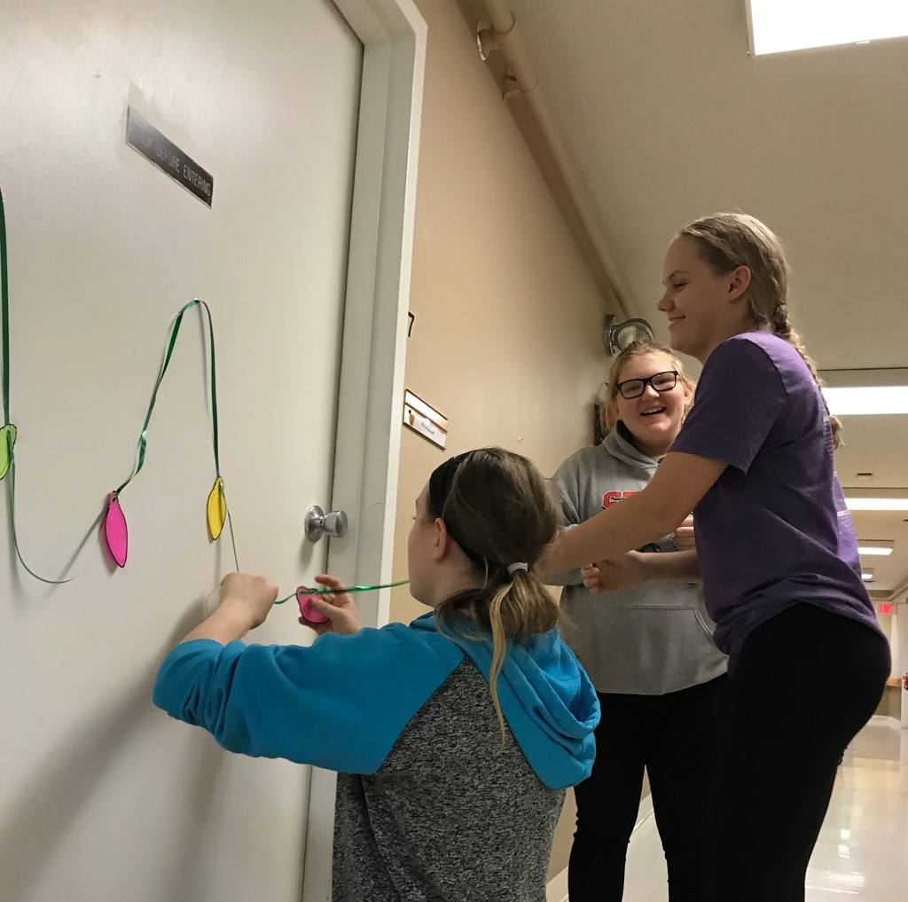 FFA Decorating Nursing Home