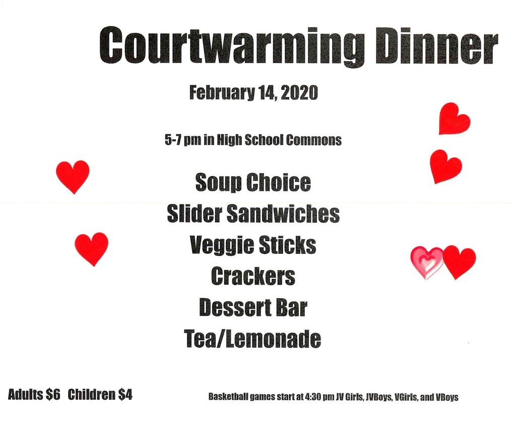 Courtwarming Dinner